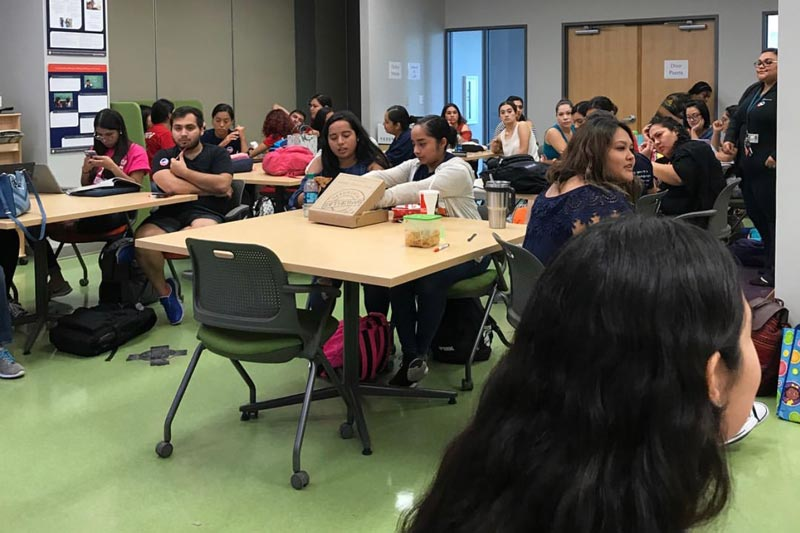 AACT visits Bilinugal Education Students at UTRGV